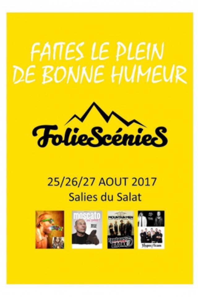 PASS INTEGRAL - Foliescenies @ Complexe sportif - SALIES DU SALAT