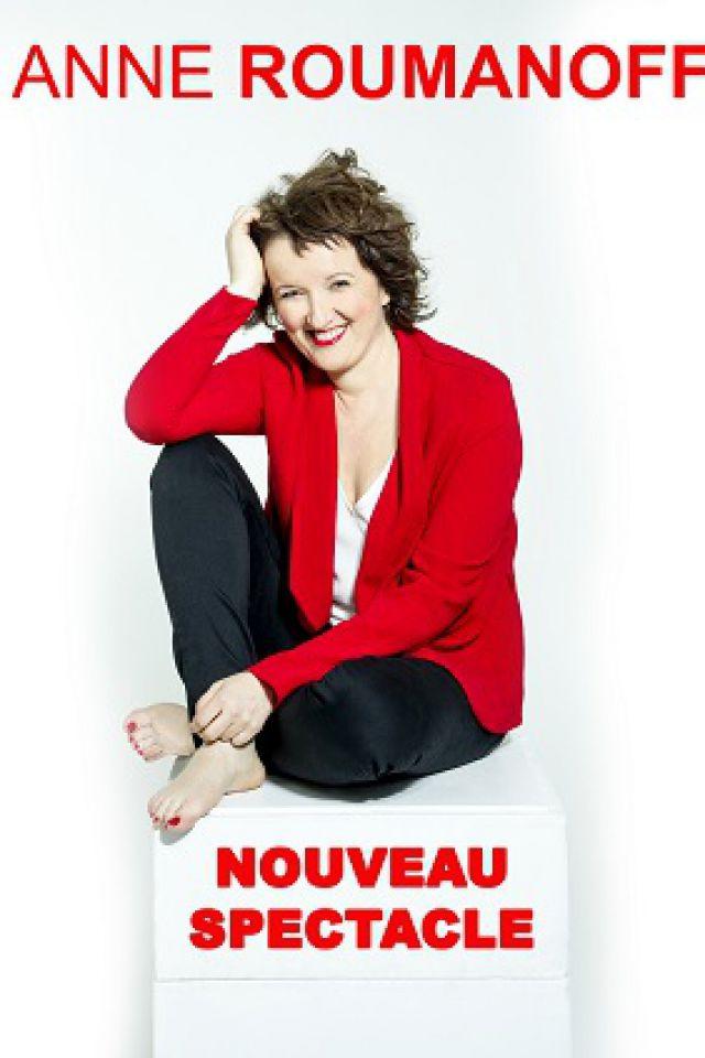 ANNE ROUMANOFF « Nouveau spectacle » @ Théâtre de l'avre - ROYE