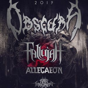 Obscura + Fallujah + Allegaeon + First Fragment