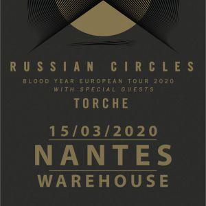 Russian Circles + Torche - Warehouse Nantes