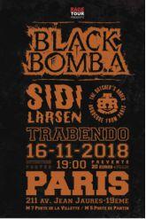 BLACK BOMB A + SIDILARSEN + BUTCHER'S RODEO