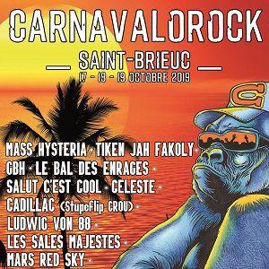 Carnavalorock 2019 - Pass 2 Jours
