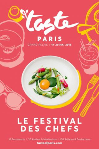 Salon TASTE OF PARIS 2018 - LE FESTIVAL DES CHEFS - SESSION JOURNÉE