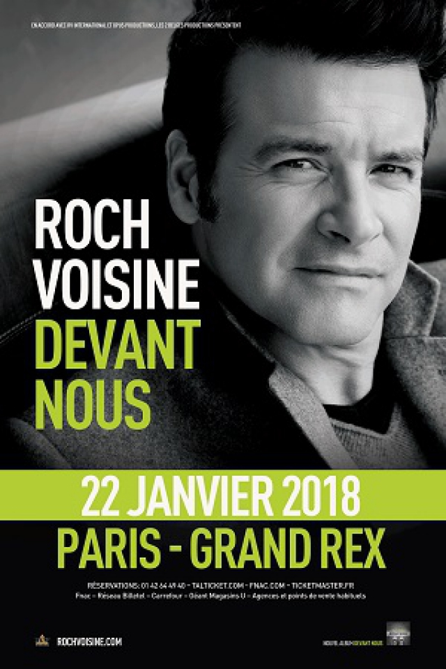 ROCH VOISINE @ Le Grand Rex - Paris