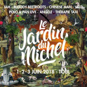 FESTIVAL LE JARDIN DU MICHEL 2018 - Vendredi 1er Juin @ SITE PLEIN AIR - TOUL
