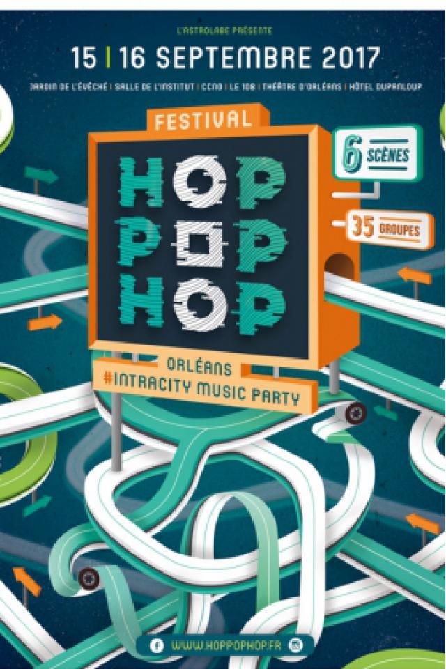 Hop Pop Hop 2017 - Pass 2 Jours @ JARDIN DE L'EVECHE - ORLÉANS