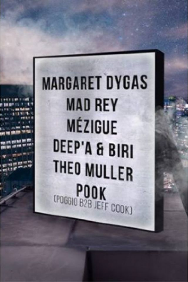 Billets Open Minded Party: Margaret Dygas, Mad Rey, Mézigue & more - Glazart