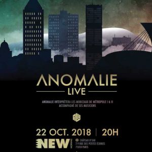 ANOMALIE + BAND - CONCERT @ New Morning - Paris