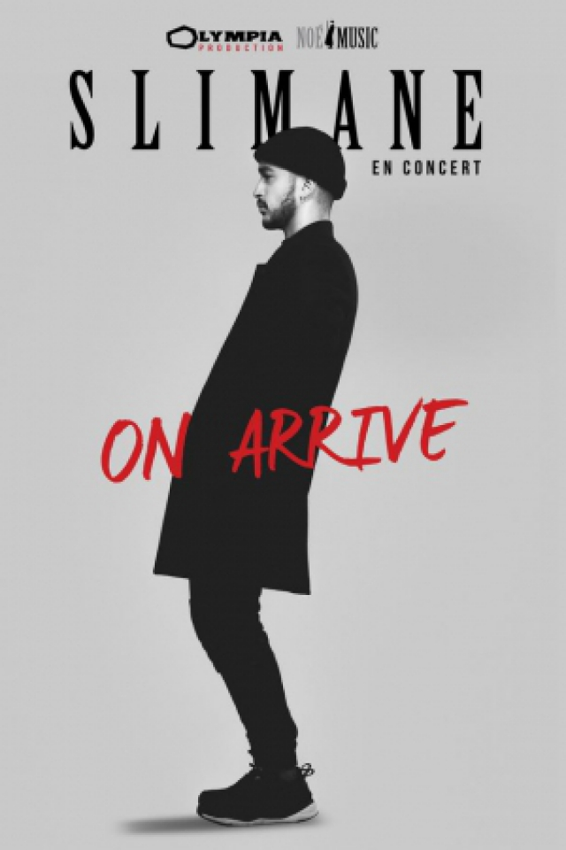 """Concert SLIMANE """"On arrive"""" à Bressuire @ BOCAPOLE - Espace Europe - Billets & Places"""