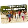 BILLET FAMILLE NOMBREUSE