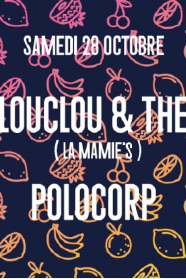 Clouclou & Théo (La Mamie's), Polocorp @ Wanderlust - PARIS