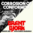Concert DUO PACK - CORROSION OF CONFORMITY + BRANT BJORK à PARIS @ Petit Bain - Billets & Places