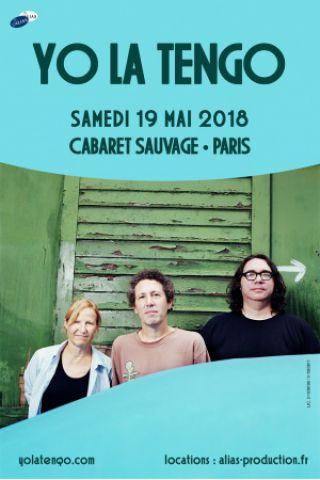 Concert YO LA TENGO à Paris @ Cabaret Sauvage - Billets & Places