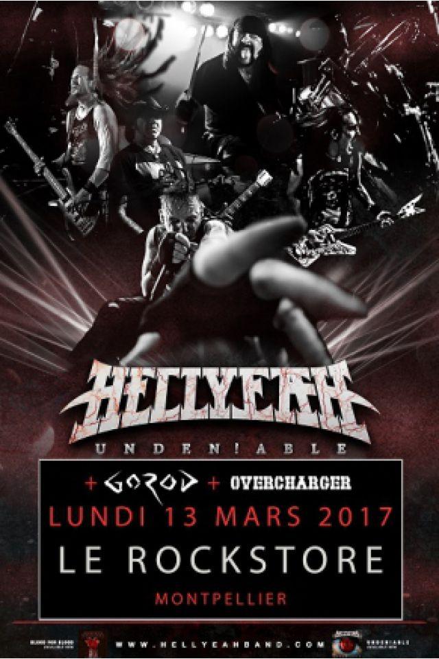 Concert HELLYEAH à Montpellier @ Le Rockstore - Billets & Places
