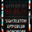 Soirée Un Rêve: Shackleton, Appleblim, Mondkopf- Weather Off à PARIS @ Le Rex Club - Billets & Places