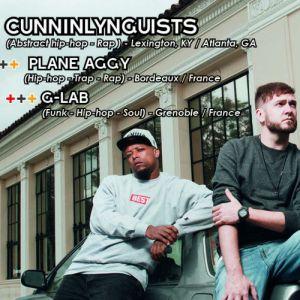 CunninLynguists + Plane Aggy + G-Lab (Concert Rap) @ L'ILYADE - SEYSSINET PARISET