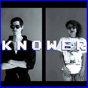 Knower - Screwing around Europe in Spring @ 1988 Live club - RENNES