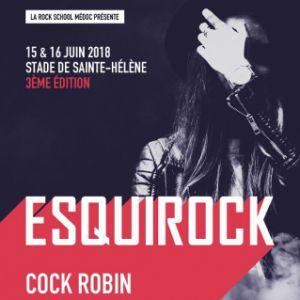 Festival Esquirock - Cock Robin @ Stade - SAINTE HÉLÈNE