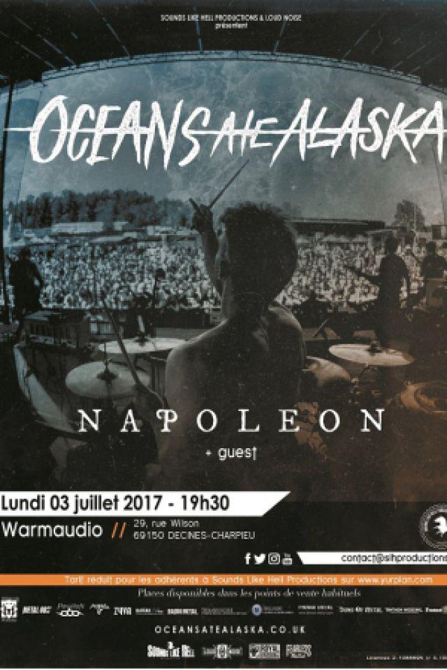 OCEANS ATE ALASKA + NAPOLEON + guest @ WarmAudio - DÉCINES CHARPIEU