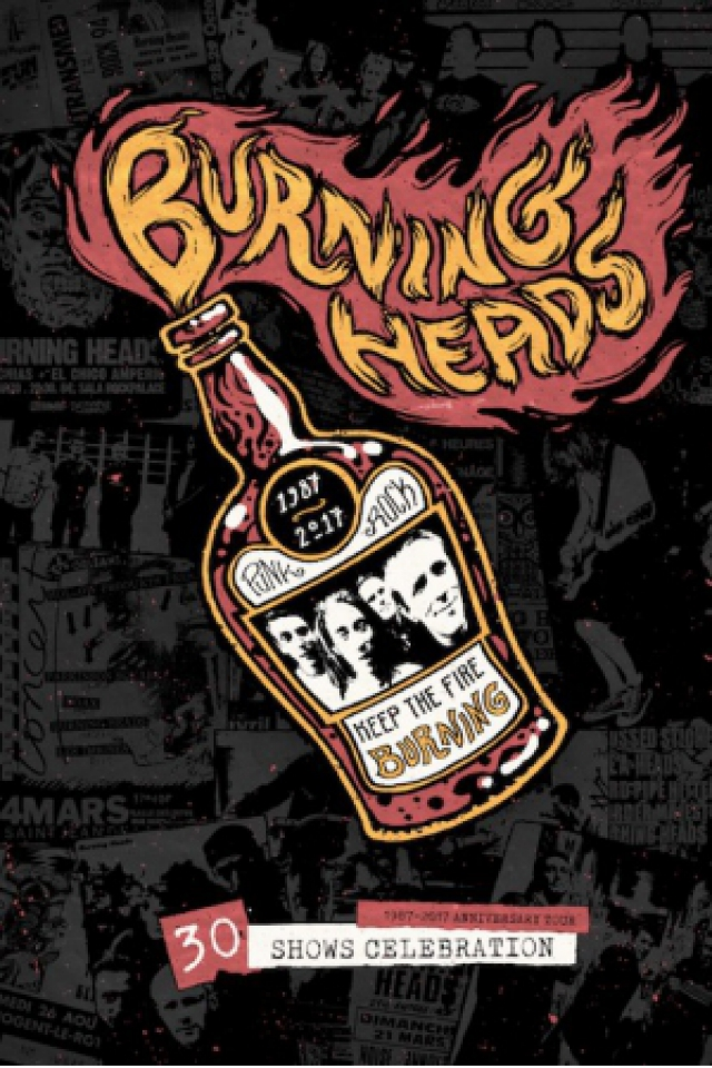 BURNING HEADS + ANCHOR DROPS + GUEST  @ Oméga Live - Toulon