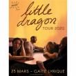 Concert LITTLE DRAGON + 1ère partie à Paris @ La Gaîté Lyrique - Billets & Places