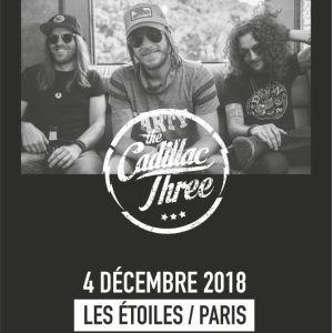 THE CADILLAC THREE @ THEATRE LES ETOILES - Paris