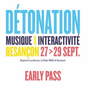 PASS 3 JOURS FESTIVAL DETONATION 2018 @ FRICHE ARTISTIQUE - BESANCON