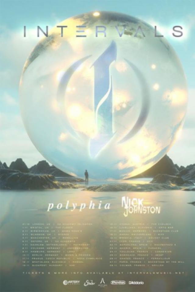 INTERVALS + POLYPHIA +Nick Johnston  @ Connexion Live - Toulouse