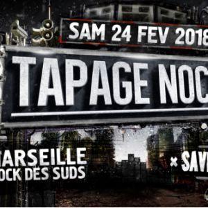 Soirée Tapage Nocturne 2018 - Marseille