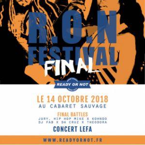RON FINAL - R.O.N FESTIVAL 2018 @ Cabaret Sauvage - Paris