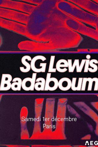 Concert SG Lewis à PARIS @ Badaboum - Billets & Places