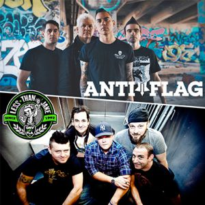 ANTI-FLAG + LESS THAN JAKE @ CCO - Villeurbanne