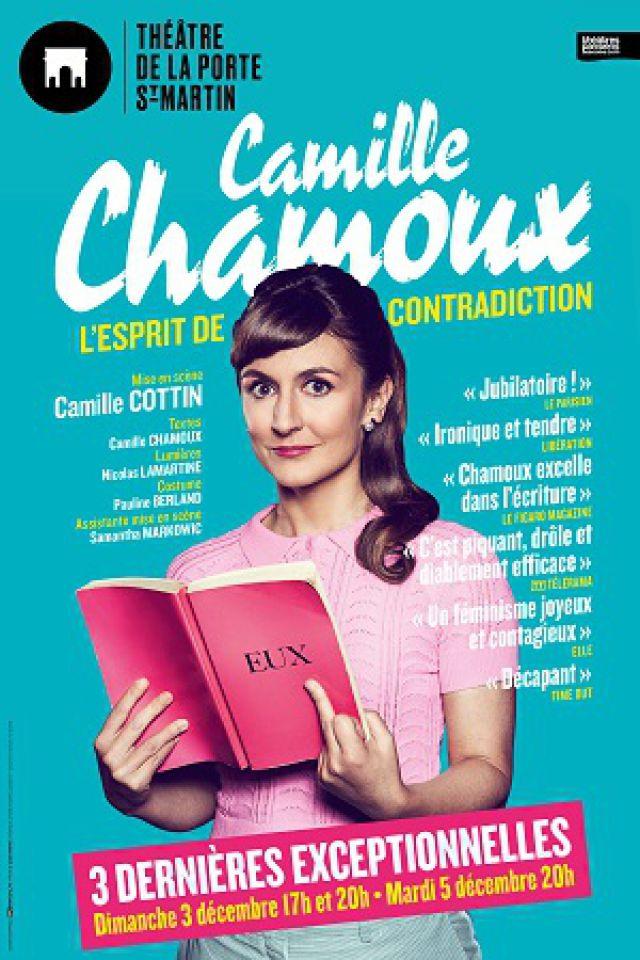 CAMILLE CHAMOUX @ Théatre de la Porte Saint-Martin - Paris