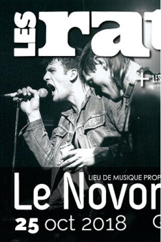 Concert LES RATS à QUIMPER @ Le Novomax - Billets & Places