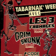 Concert LES 3 FROMAGES + GRIMSKUNK + CODE 40-11