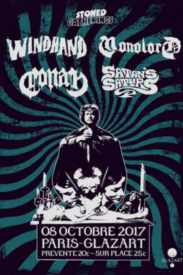 Concert Windhand + Monolord + Conan + Satan's Satyrs