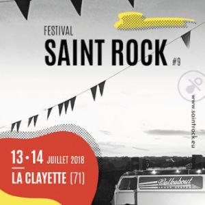 Festival Saint Rock 2018 @ Pré de la Piste - LA CLAYETTE