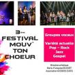 Spectacle 3ème FESTIVAL MOUV' TON CHOEUR