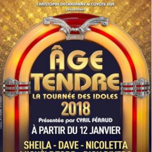 AGE TENDRE @ BORDEAUX METROPOLE ARENA - FLOIRAC