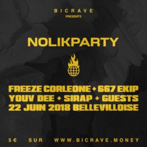 BICRAVE PRESENTE : NOLIK PARTY @ La Bellevilloise - Paris
