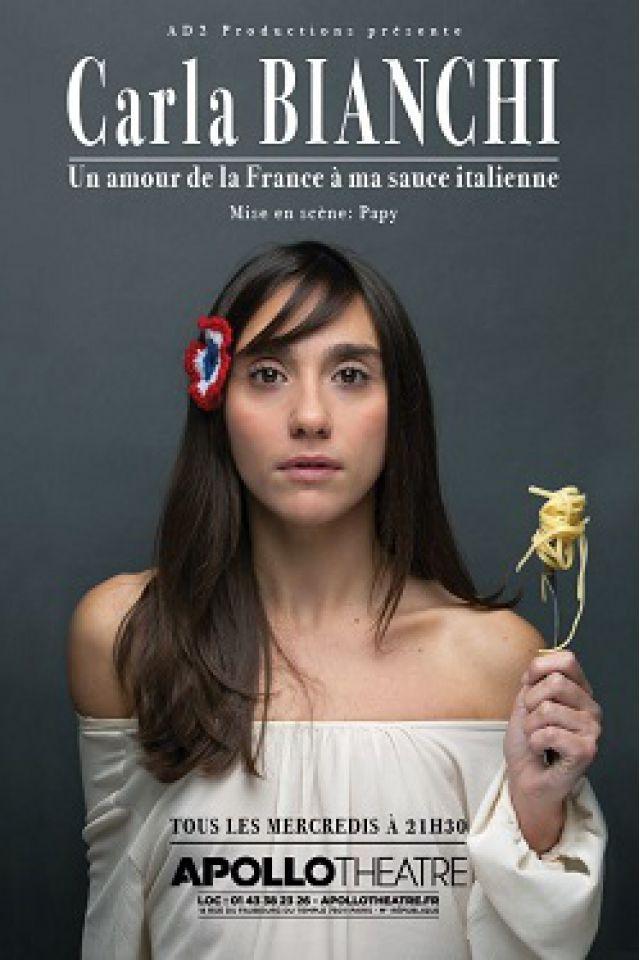 Carla Bianchi @ APOLLO THEATRE - PARIS