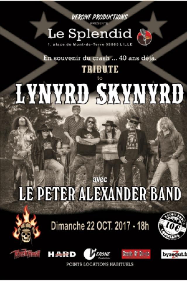 Billets TRIBUTE TO LYNYRD SKYNYRD - Le Splendid