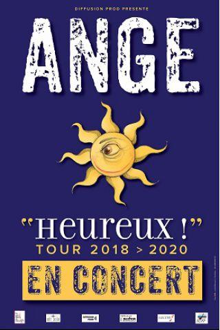 Concert Ange - Heureux! Tour 2018-2020 à Paris @ Café de la Danse - Billets & Places