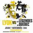 Théâtre MATCH D'IMPROVISATION - LYON VS LÉGENDES DU QUÉBEC