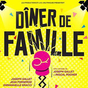 Dîner de famille @ Théâtre de Jeanne - NANTES