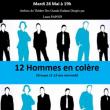 Théâtre 12 hommes en colère