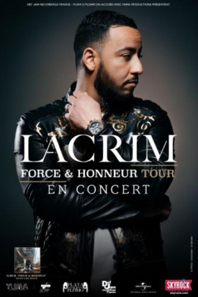 Concert LACRIM à Saint Herblain @ ZENITH NANTES METROPOLE - Billets & Places