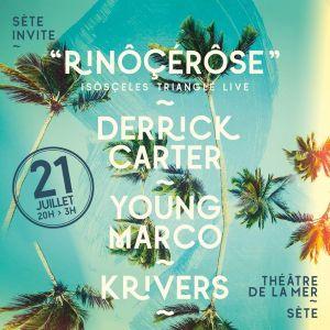 Sète Invite « Rinôçérôse » @ THEATRE DE LA MER - SETE