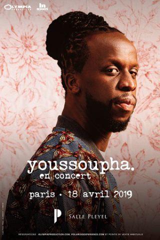 Concert YOUSSOUPHA à Paris @ Salle Pleyel - Billets & Places