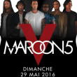 Concert MAROON 5 à Nice @ Stade Charles Ehrmann - Billets & Places